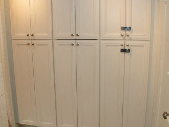 Master Bathroom - storage and supplie