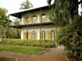 Visit Ernest Hemingway's home in Key West
