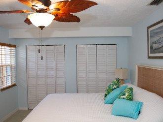 Master Bedroom - King Bed & Plenty of Closet Space
