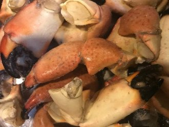 Stone Crab Season: Oct 15 - May 15
