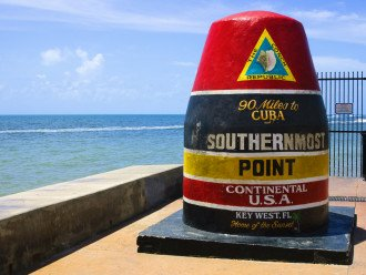 Take a day trip to Key West, only an hour away!