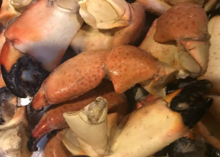 Stone Crab Season: Oct 15-May 15