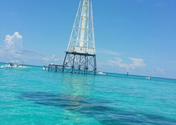 Alligator Reef Lighthouse!