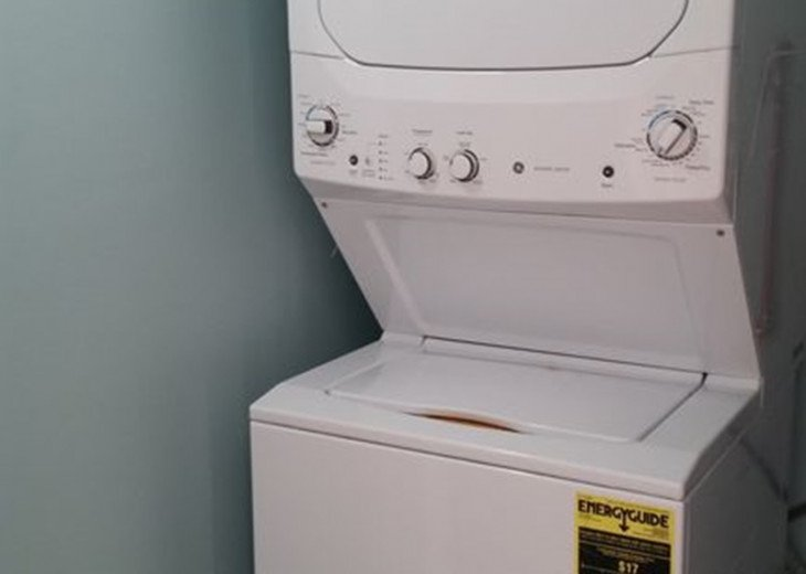 Private washer/dryer