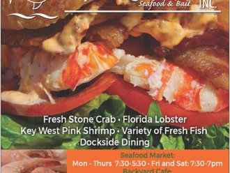 Key Largo Fisheries Seafood Market, just down the street!