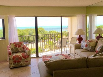 View of ocean from living, dining and kitchen areas!