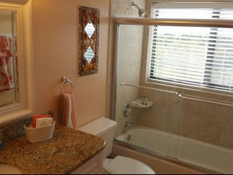 Master Bath with view of the ocean!
