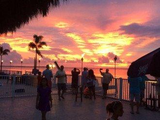 Key Largo Sunset from Jimmy Johnson's Big Chill