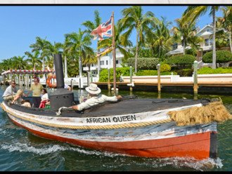 Check out the African Queen and take a ride on her!