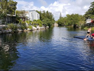 Swimming lagoon