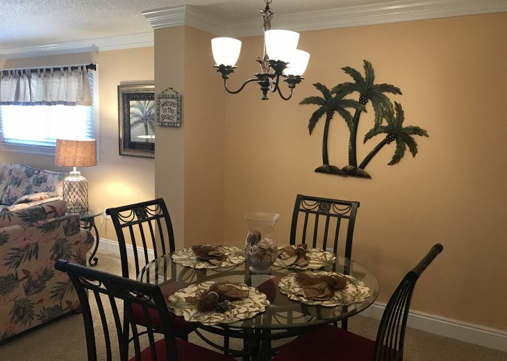 One bedroom dining area