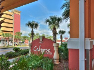 Calypso Resort & Towers entrance in Panama City Beach, Florida