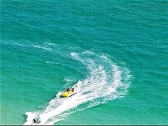 banana boat rides, jet ski's, parasailing and more!