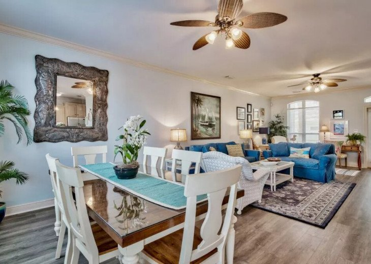 Beautiful Blue Bungalow - Sleeps 9 Emerald Shores Destin/Miramar Beach FL #6