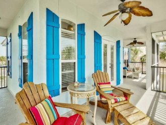 Beautiful Blue Bungalow - Sleeps 9 Emerald Shores Destin/Miramar Beach FL #1