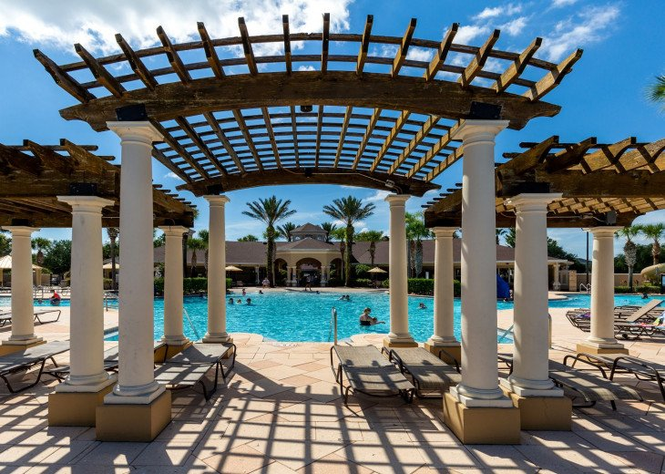 ❤️*Newly Renovated* Luxury 6BR Windsor Hills Pool Villa, 2 miles to Disney #38