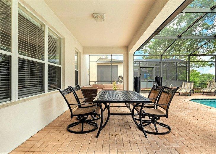 ❤️*Newly Renovated* Luxury 6BR Windsor Hills Pool Villa, 2 miles to Disney #27