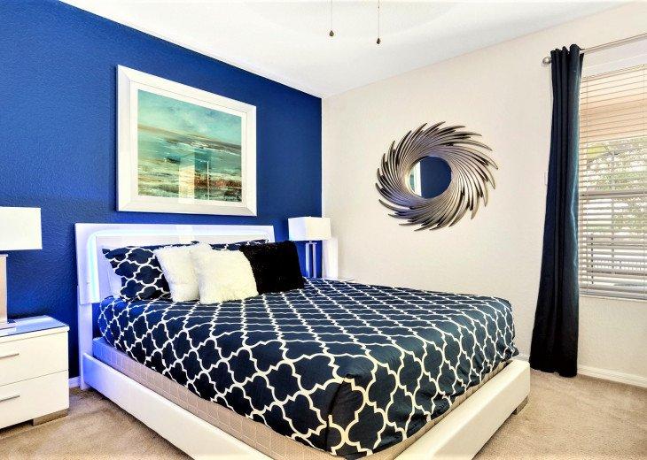 ❤️*Newly Renovated* Luxury 6BR Windsor Hills Pool Villa, 2 miles to Disney #7