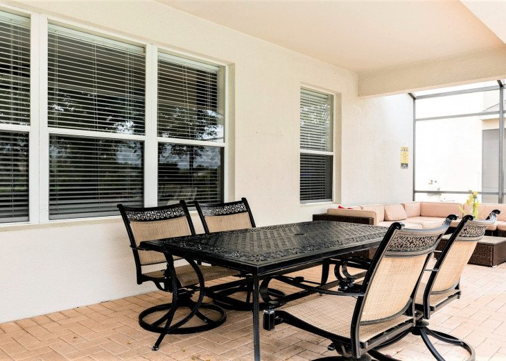 ❤️*Newly Renovated* Luxury 6BR Windsor Hills Pool Villa, 2 miles to Disney #25