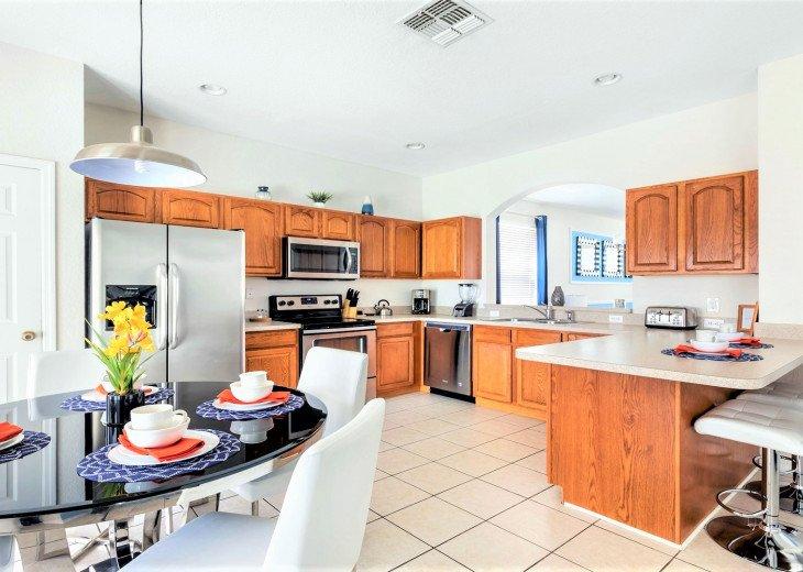 ❤️*Newly Renovated* Luxury 6BR Windsor Hills Pool Villa, 2 miles to Disney #16