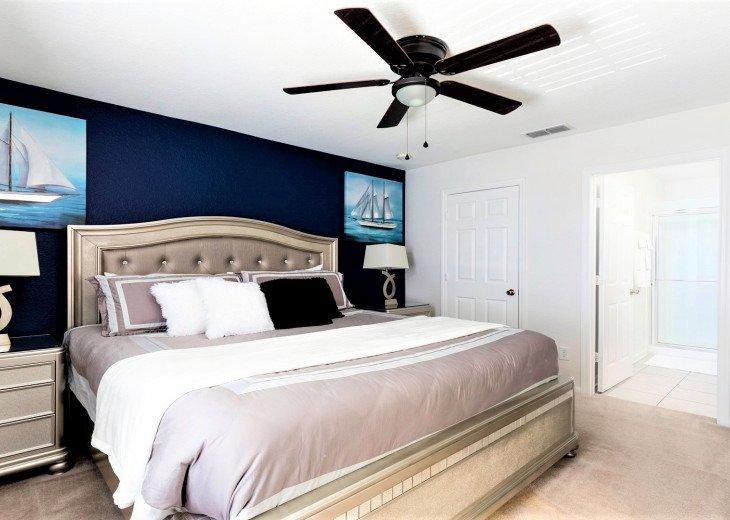 ❤️*Newly Renovated* Luxury 6BR Windsor Hills Pool Villa, 2 miles to Disney #14