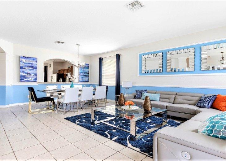 ❤️*Newly Renovated* Luxury 6BR Windsor Hills Pool Villa, 2 miles to Disney #6