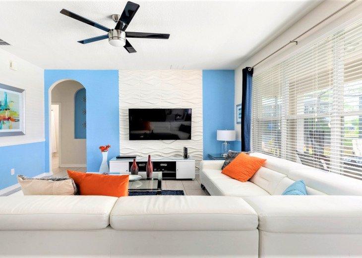 ❤️*Newly Renovated* Luxury 6BR Windsor Hills Pool Villa, 2 miles to Disney #21