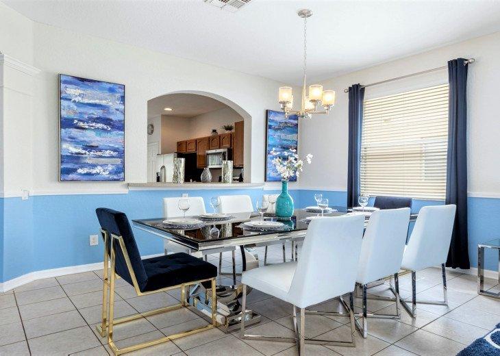 ❤️*Newly Renovated* Luxury 6BR Windsor Hills Pool Villa, 2 miles to Disney #5