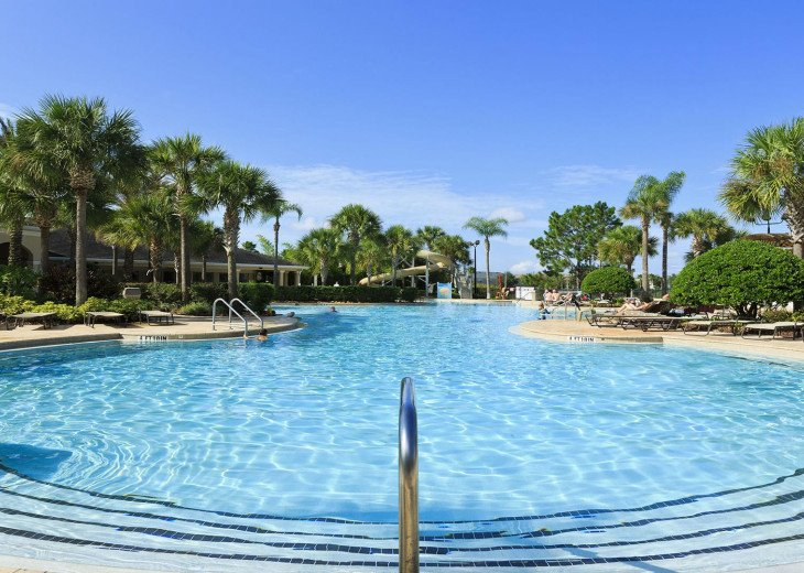 ❤️*Newly Renovated* Luxury 6BR Windsor Hills Pool Villa, 2 miles to Disney #56