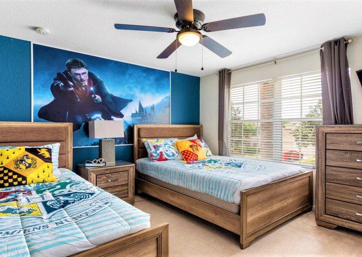 ❤️*Newly Renovated* Luxury 6BR Windsor Hills Pool Villa, 2 miles to Disney #12