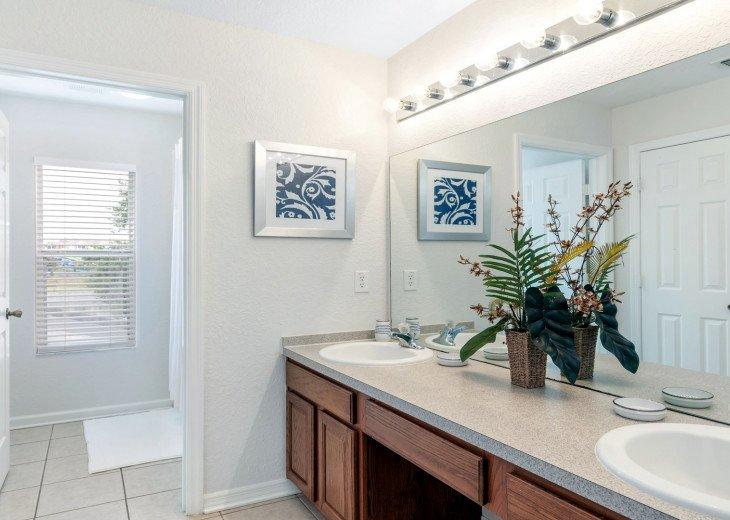 ❤️*Newly Renovated* Luxury 6BR Windsor Hills Pool Villa, 2 miles to Disney #31