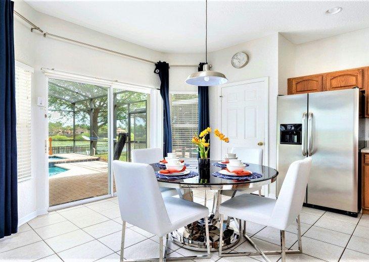 ❤️*Newly Renovated* Luxury 6BR Windsor Hills Pool Villa, 2 miles to Disney #23