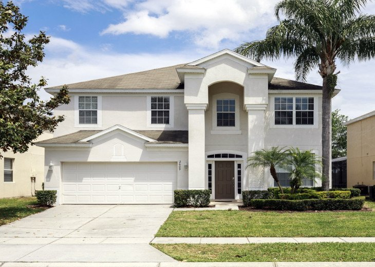 ❤️*Newly Renovated* Luxury 6BR Windsor Hills Pool Villa, 2 miles to Disney #29