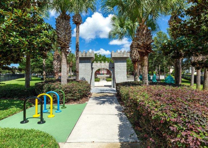 ❤️*Newly Renovated* Luxury 6BR Windsor Hills Pool Villa, 2 miles to Disney #57