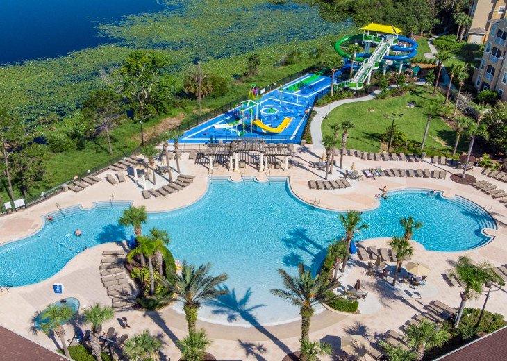 ❤️*Newly Renovated* Luxury 6BR Windsor Hills Pool Villa, 2 miles to Disney #40