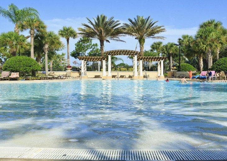 ❤️*Newly Renovated* Luxury 6BR Windsor Hills Pool Villa, 2 miles to Disney #37