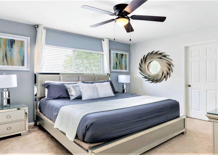 ❤️*Newly Renovated* Luxury 6BR Windsor Hills Pool Villa, 2 miles to Disney #4