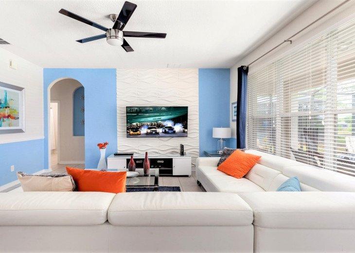 ❤️*Newly Renovated* Luxury 6BR Windsor Hills Pool Villa, 2 miles to Disney #9