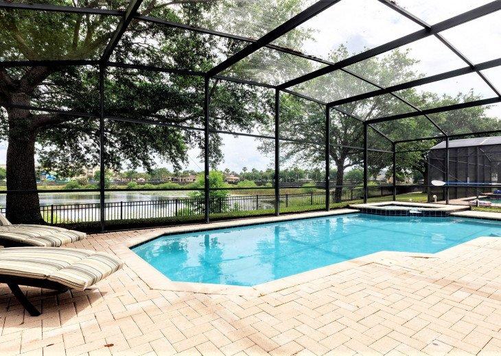 ❤️*Newly Renovated* Luxury 6BR Windsor Hills Pool Villa, 2 miles to Disney #24