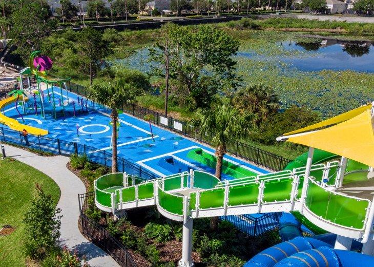 ❤️*Newly Renovated* Luxury 6BR Windsor Hills Pool Villa, 2 miles to Disney #41