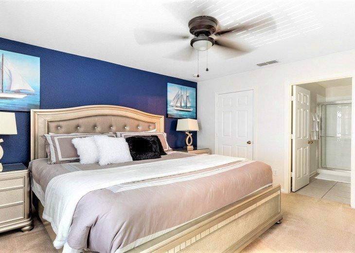 ❤️*Newly Renovated* Luxury 6BR Windsor Hills Pool Villa, 2 miles to Disney #8