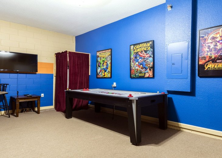 ❤️*Newly Renovated* Luxury 6BR Windsor Hills Pool Villa, 2 miles to Disney #19