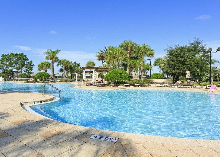 ❤️*Newly Renovated* Luxury 6BR Windsor Hills Pool Villa, 2 miles to Disney #45