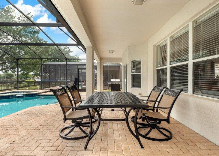 ❤️*Newly Renovated* Luxury 6BR Windsor Hills Pool Villa, 2 miles to Disney #28