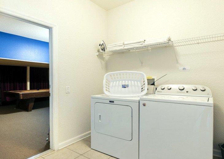 ❤️*Newly Renovated* Luxury 6BR Windsor Hills Pool Villa, 2 miles to Disney #32