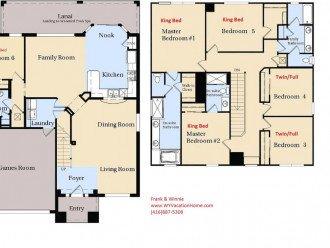 *Best Location* Luxury 6BR Windsor Hills Pool Villa, WiFi, AC Game Room #1
