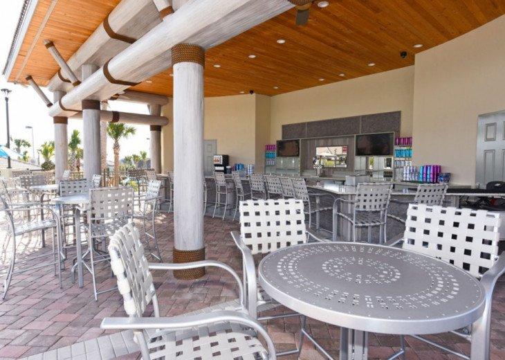 9BD 5BA Modern Champions Gate Villa Private Pool Spa Sleeps 20 #51