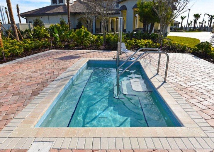 9BD 5BA Modern Champions Gate Villa Private Pool Spa Sleeps 20 #53