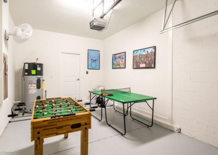 5BD 5BA Champions Gate. Games Room. Private Pool Spa. TV Loft. #19