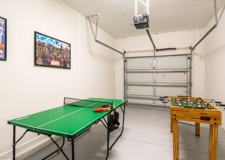 5BD 5BA Champions Gate. Games Room. Private Pool Spa. TV Loft. #22
